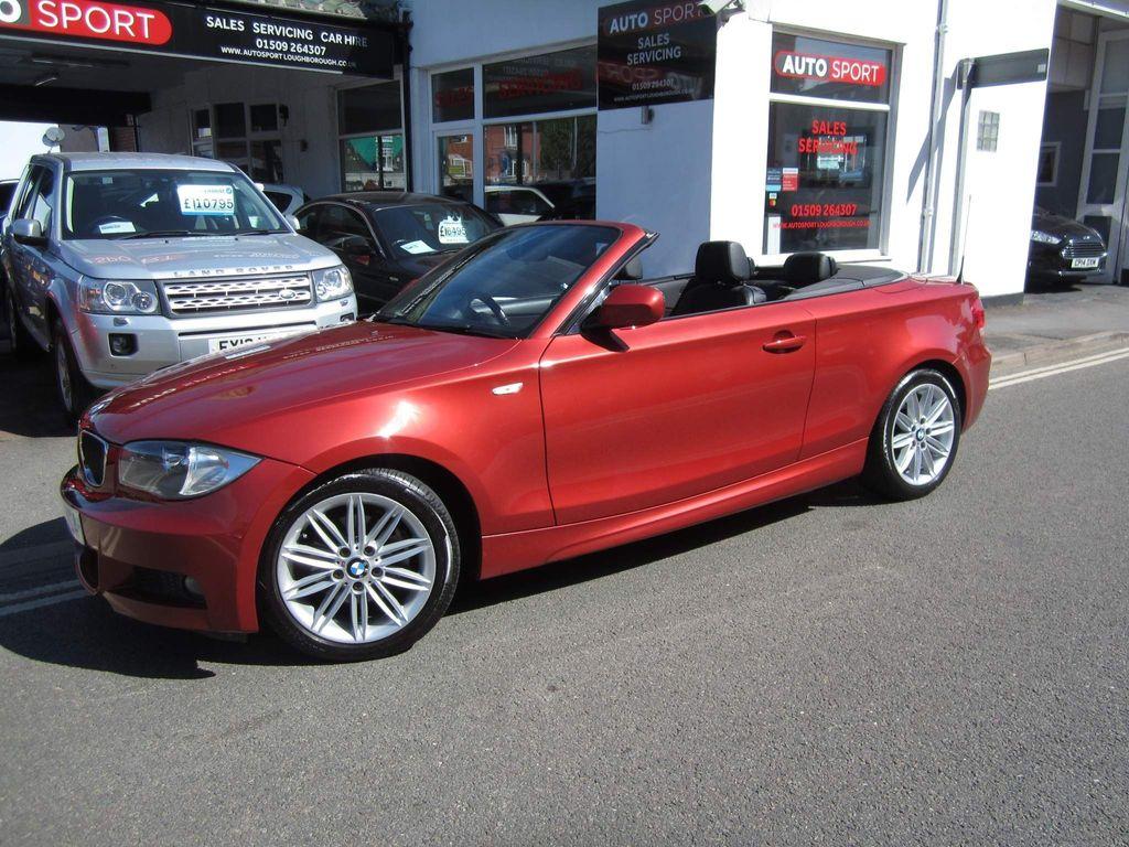 BMW 1 Series Convertible 2.0 120i M Sport Auto 2dr