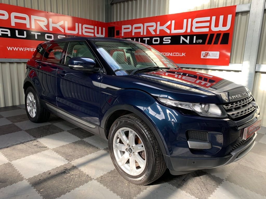 Used Land Rover Range Rover Evoque Suv 2 2 Td4 Pure Awd 5dr In Ballyclare County Antrim Parkview Autos Ni Ltd
