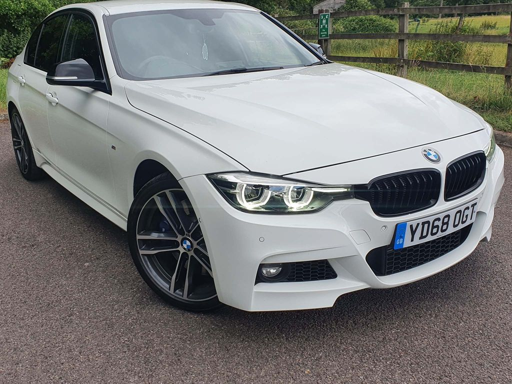 BMW 3 Series Saloon 2.0 318d M Sport Shadow Edition (s/s) 4dr