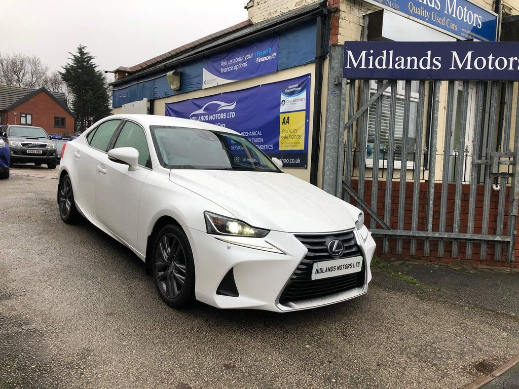 Lexus IS 300 Saloon 2.5 Advance E-CVT (s/s) 4dr