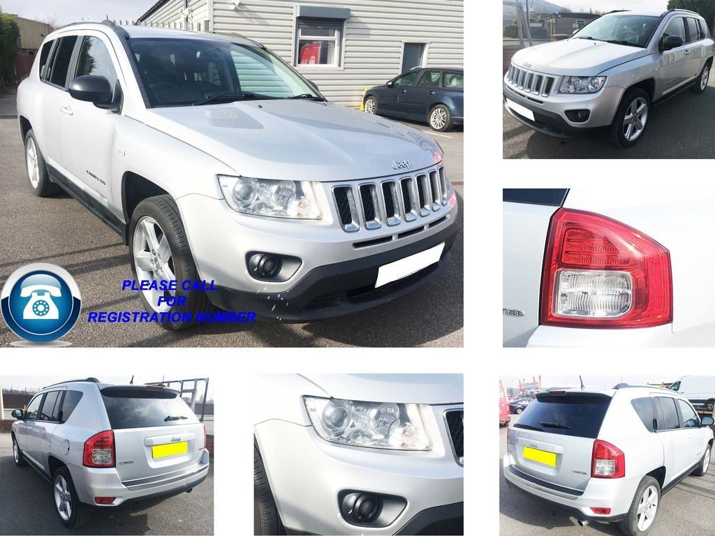 Jeep Compass SUV 2.2 CRD Limited 5dr