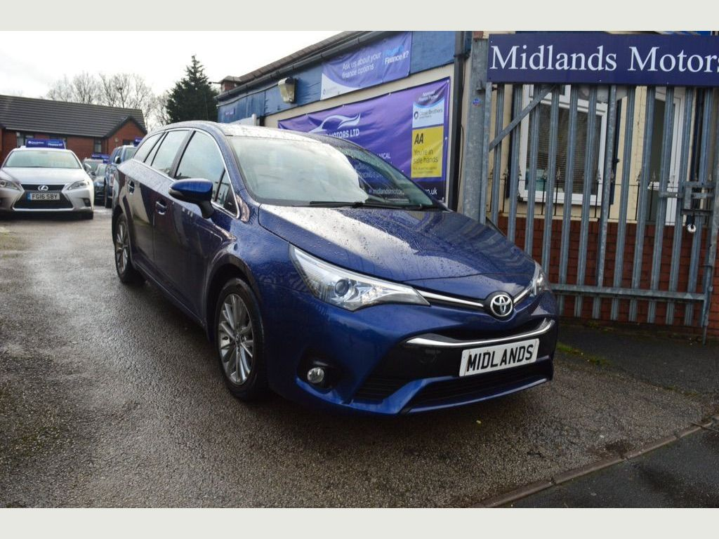 Toyota Avensis Estate 1.8 V-matic Business Edition Touring Sports CVT 5dr