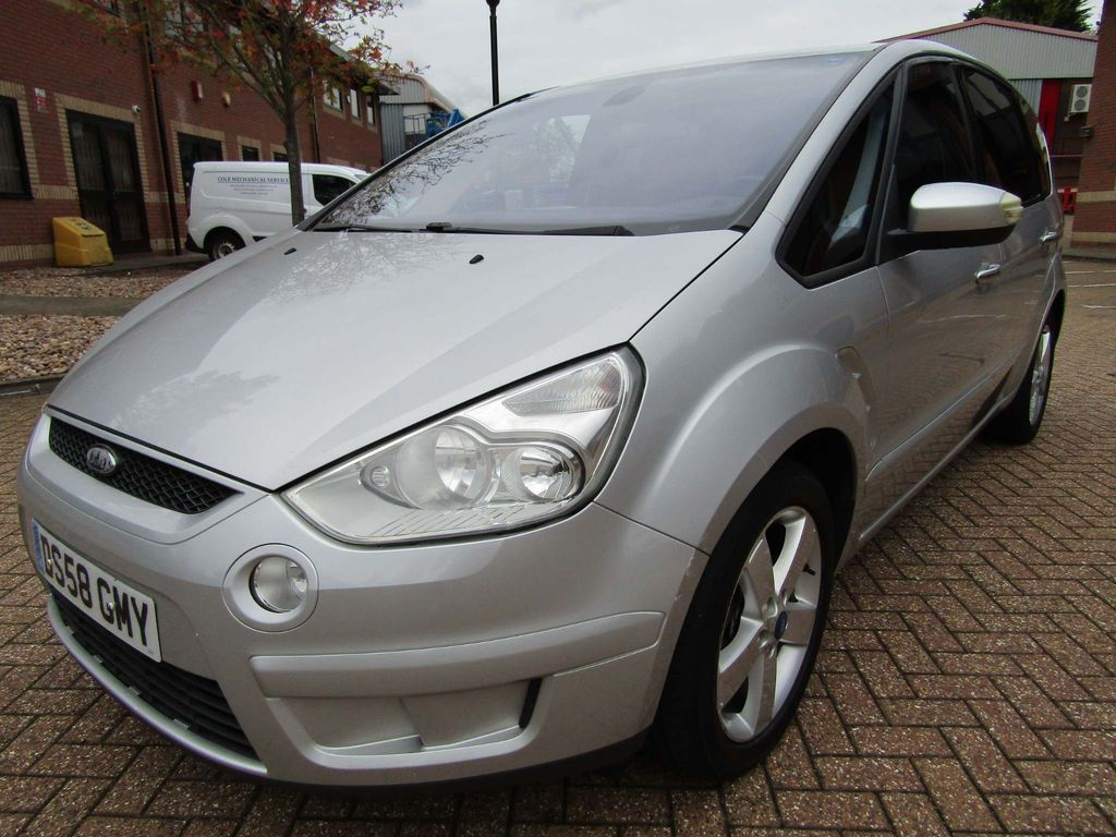 FORD S-MAX MPV 2.0 DURATEC 7 SEATER 5 DR MANUAL PETROL