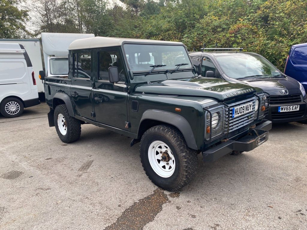 Land Rover Defender 110 Pickup 2.4 TDCi Double Cab Pickup 4WD MWB 4dr