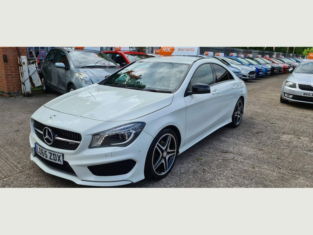 Mercedes-Benz CLA Class Coupe 2.1 CLA200 AMG Sport (s/s) 4dr