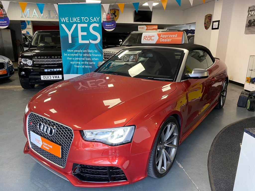 Used Audi Rs5 Convertible 4 2 Tfsi Cabriolet S Tronic Quattro 2dr In Willenhall West Midlands Mallyville Car Sales Limited
