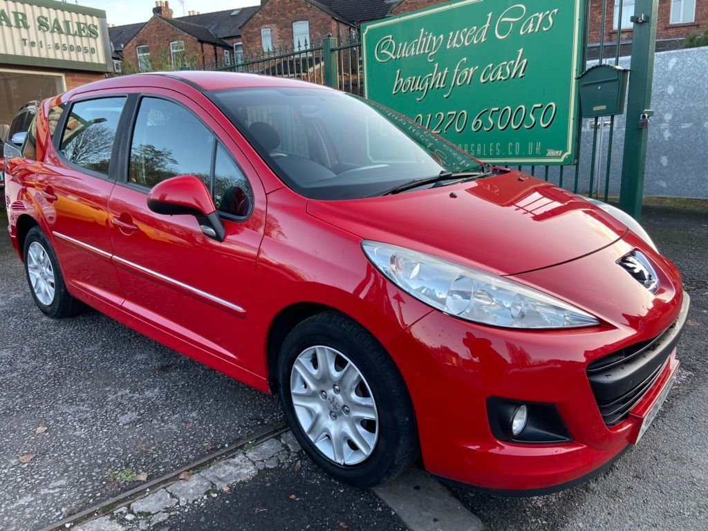 Peugeot 207 SW Estate 1.4 8v Access 5dr