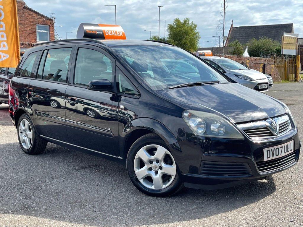 Vauxhall Zafira MPV 1.6 i 16v Club 5dr