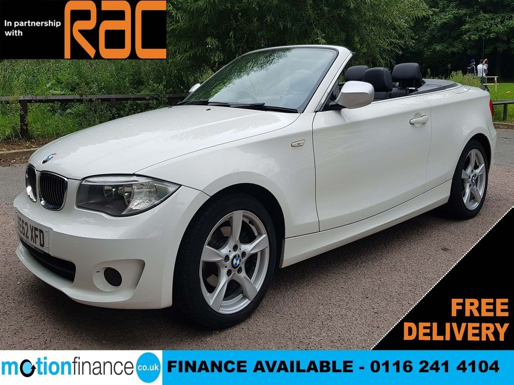 BMW 1 Series Convertible 2.0 118d Exclusive Edition 2dr