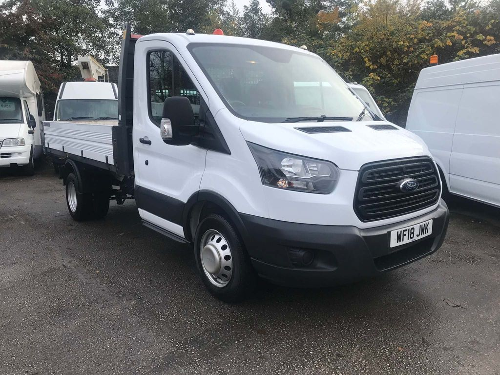 Ford Transit Tipper 2.0 TDCi 350 L2 1-Way Tipper FWD 2dr (SRW)