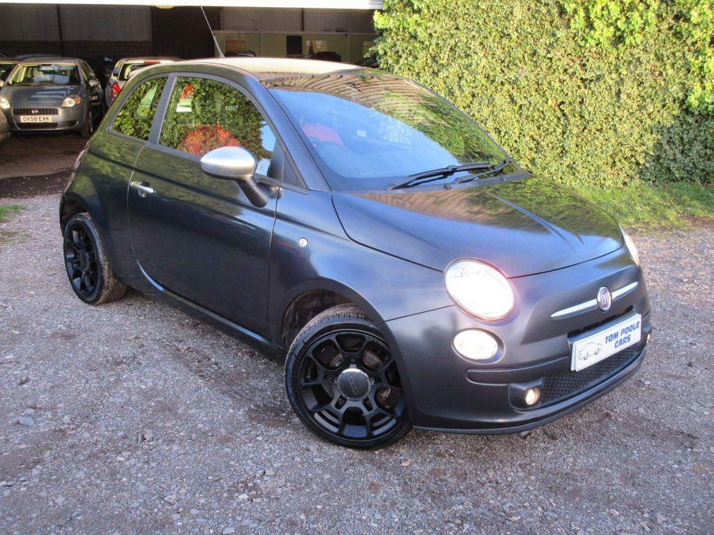 Fiat 500 Hatchback 1.2 Matt Black 3dr