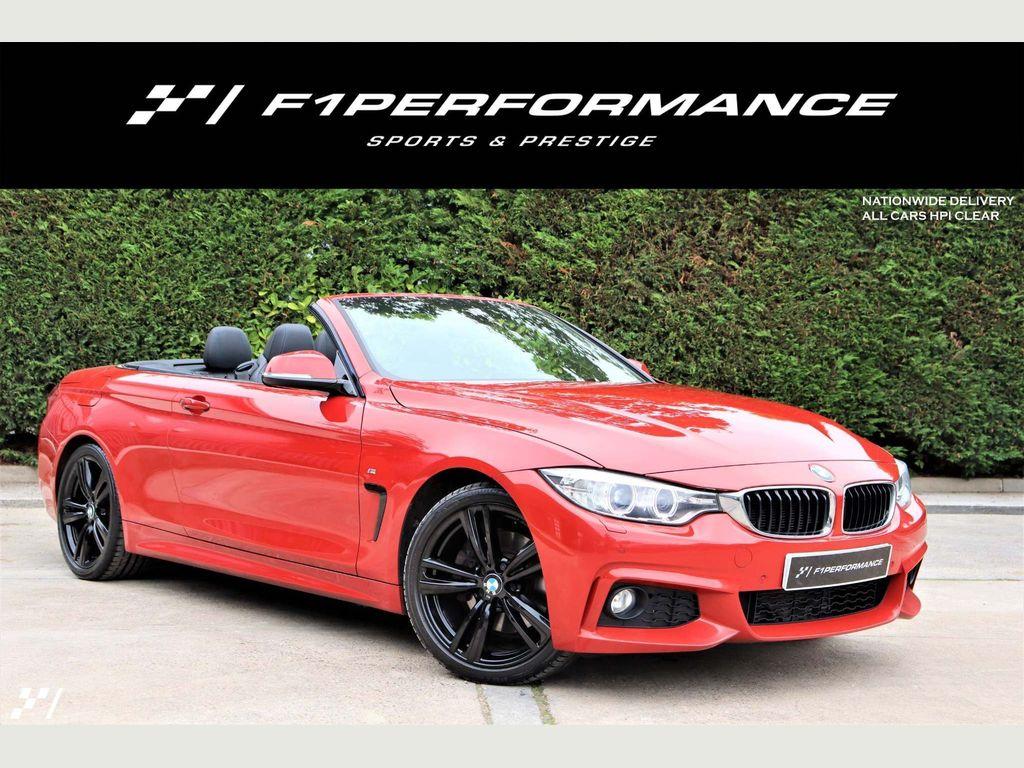 BMW 4 Series Convertible 3.0 430d M Sport 2dr