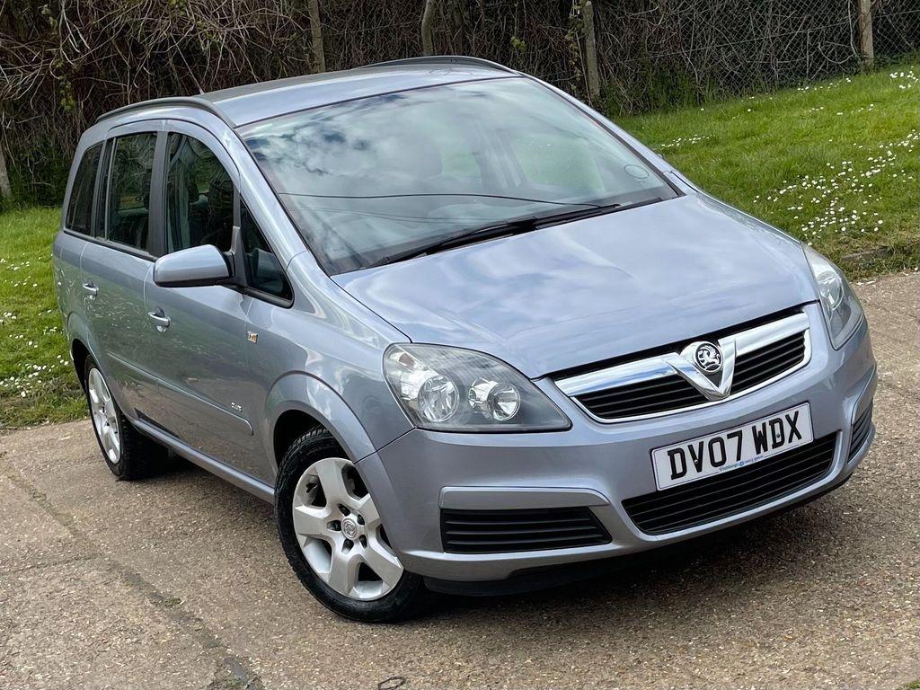 Vauxhall Zafira MPV 1.8 i 16v Club 5dr