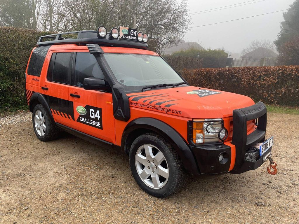 Land Rover Discovery 3 SUV 2.7 TD V6 HSE G4 CHALLENGE