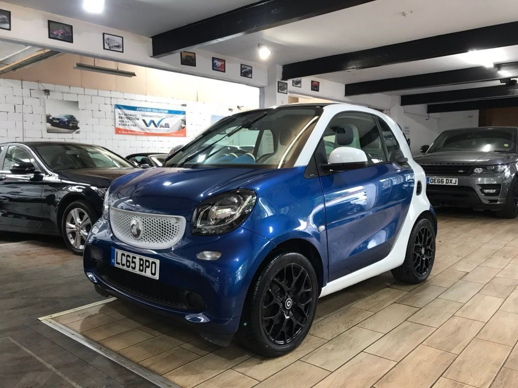 Smart fortwo Coupe 1.0 Proxy (Premium) Twinamic (s/s) 2dr