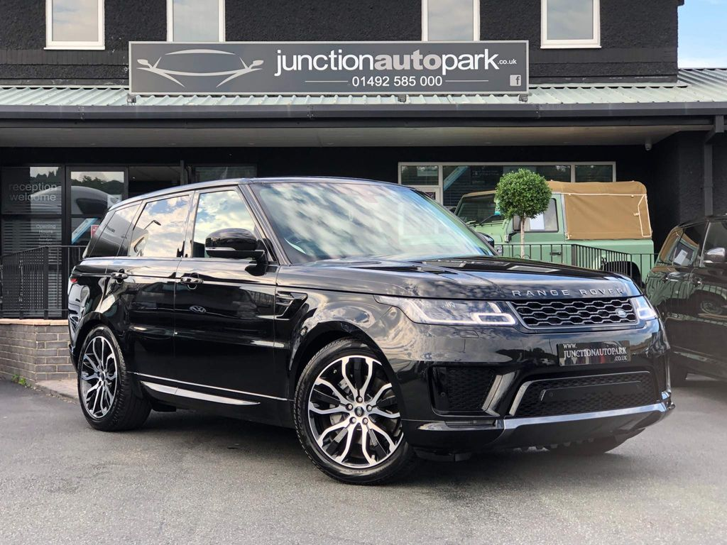 Land Rover Range Rover Sport SUV 3.0 D300 MHEV HSE Silver Auto 4WD (s/s) 5dr