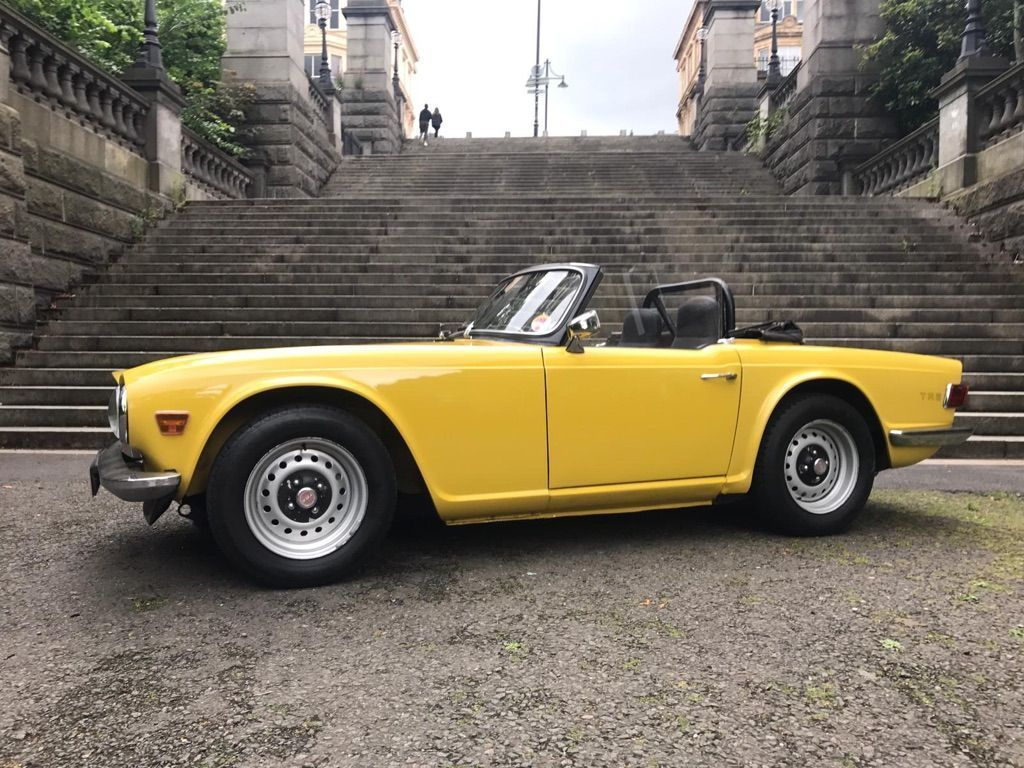 TRIUMPH TR6 Convertible {Edition unlisted}
