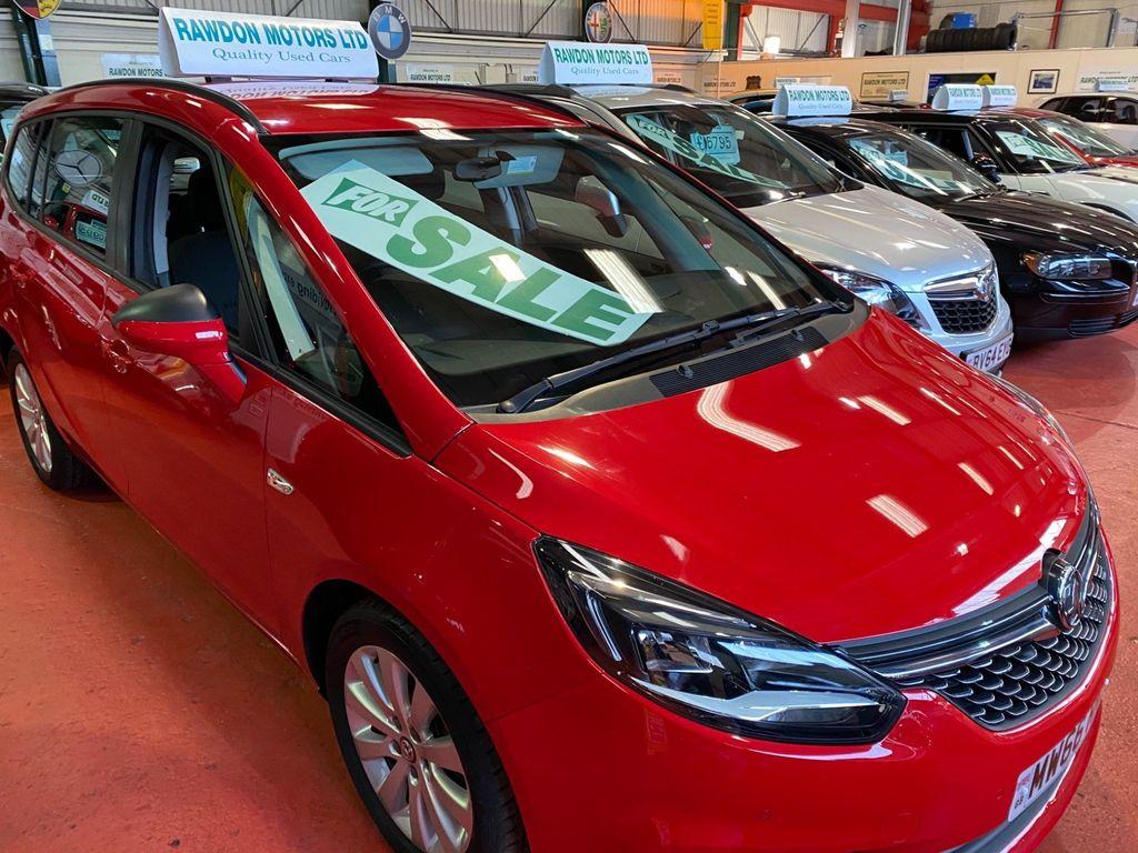 Vauxhall Zafira Tourer MPV 1.4i Turbo Design Tourer Auto 5dr