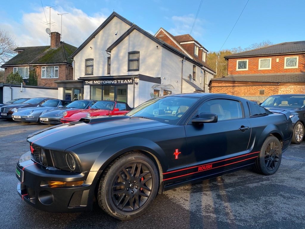 Ford Mustang Coupe 4.0 V6 ROUSH KIT MANUAL GEARBOX