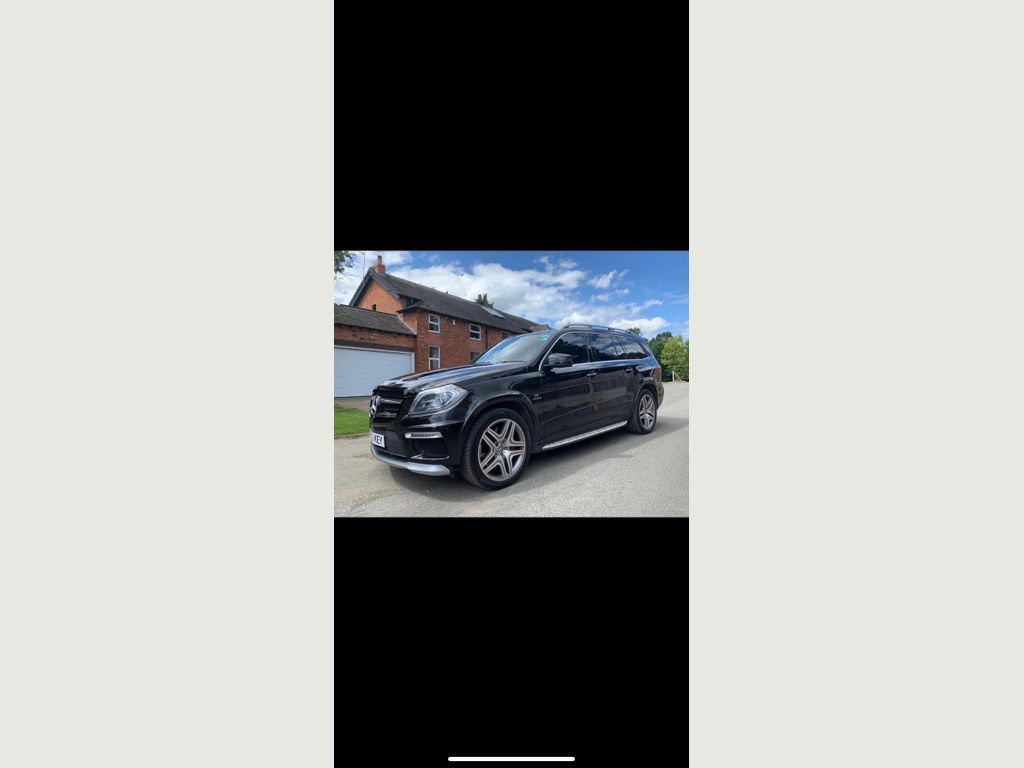 Mercedes-Benz GL Class SUV 5.5 GL63 AMG Speedshift Plus 7G-Tronic 4x4 5dr
