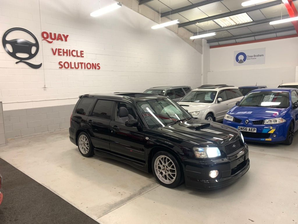 Subaru Forester SUV JDM SG5 2.0L TURBO CROSS SPORTS AUTO