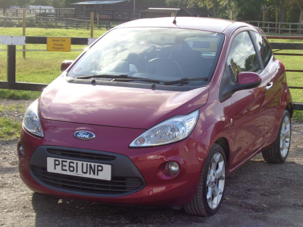 Ford Ka Hatchback 1.2 Tattoo 3dr