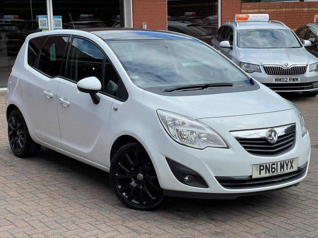 Vauxhall Meriva MPV 1.4 i 16v Exclusiv Limited Edition 5dr
