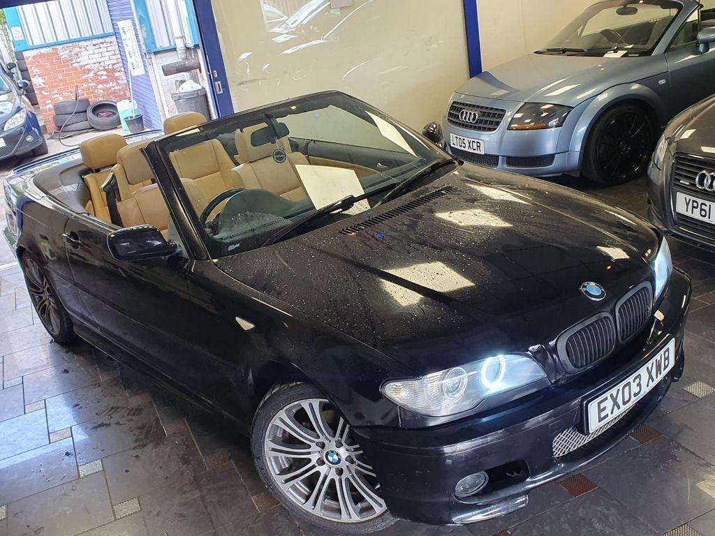 BMW 3 Series Convertible 2.0 318Ci 318 Auto 2dr