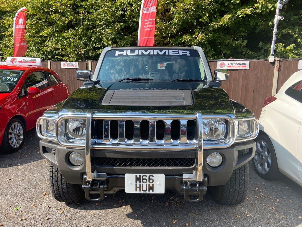 Hummer H3 SUV Right Hand Drive Automatic