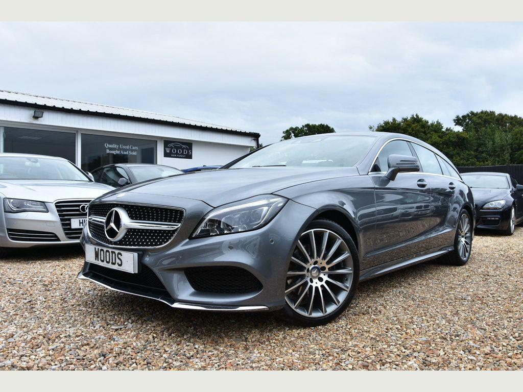 Mercedes-Benz CLS Estate 2.1 CLS220d AMG Line Shooting Brake G-Tronic+ (s/s) 5dr