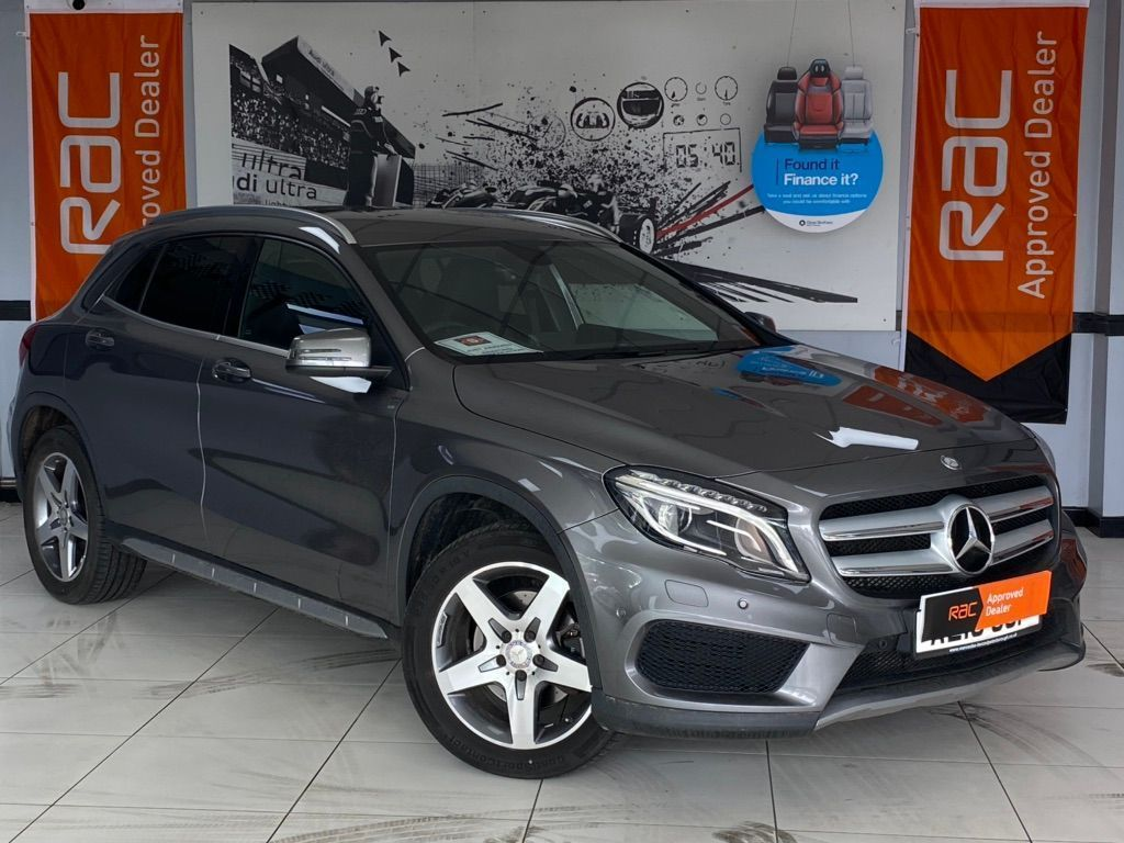 Mercedes-Benz GLA Class SUV 2.1 GLA220 AMG Line (Premium) 7G-DCT 4MATIC (s/s) 5dr