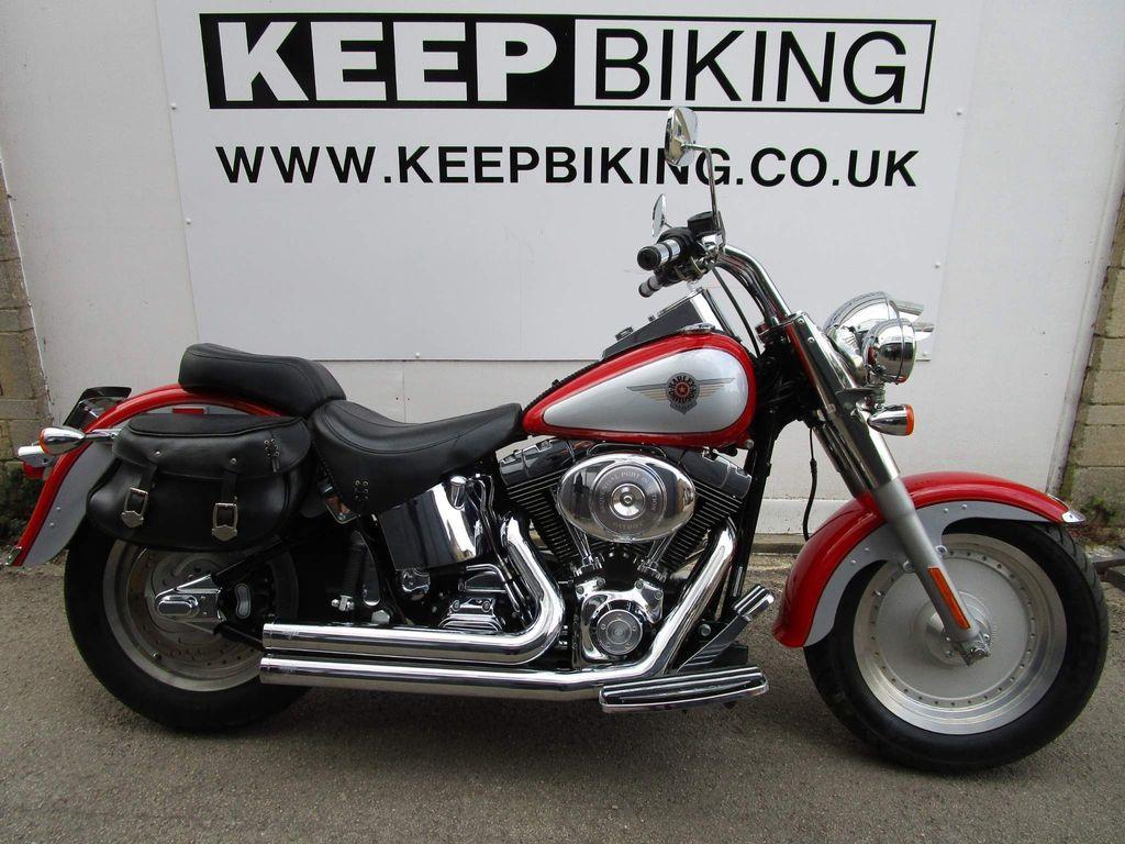 Harley-Davidson Softail Custom Cruiser 1450 FLSTF Fat Boy