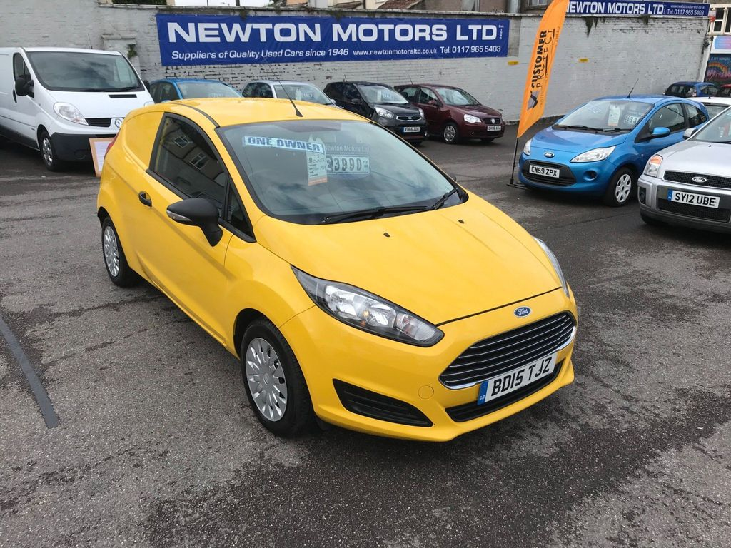Ford Fiesta Car Derived Van 1.6 TDCI ECOnetic II Panel Van 3dr