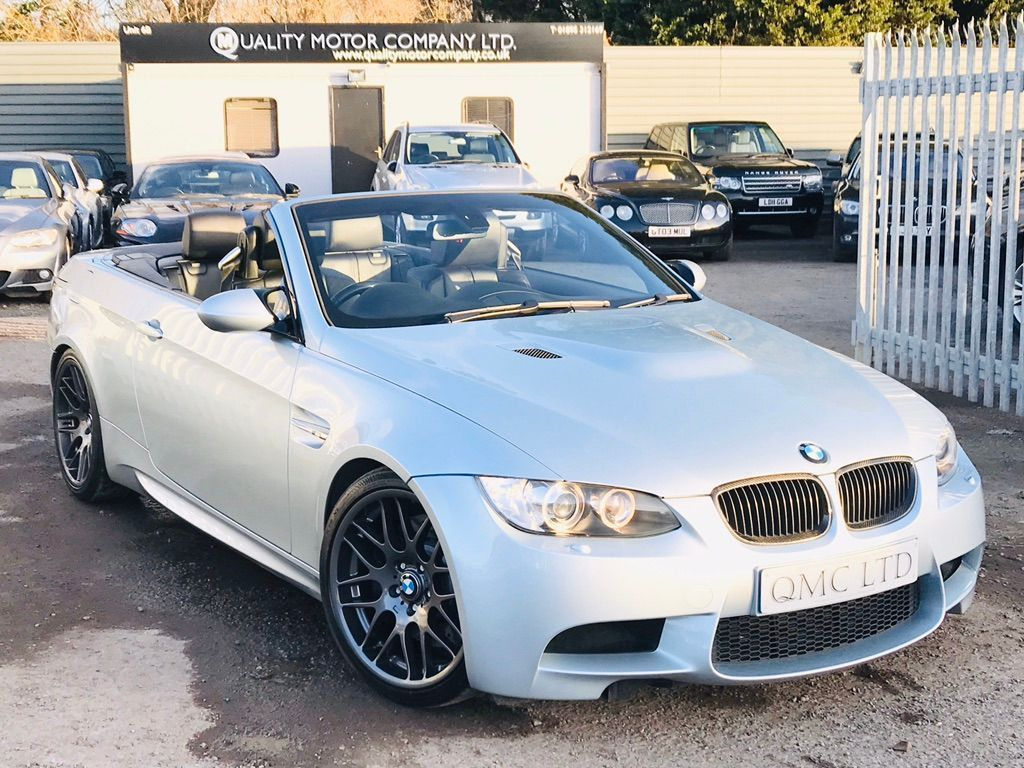 BMW M3 Convertible 4.0 V8 2dr
