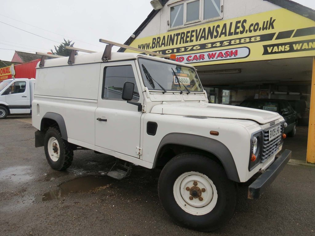 Land Rover Defender 110 Panel Van 2.4 TDi County Chassis Cab 2dr