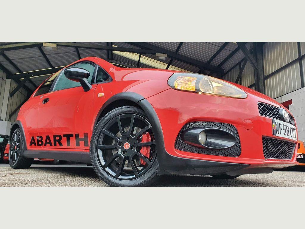 Abarth Grande Punto Hatchback 1.4 T-Jet 155 3drv