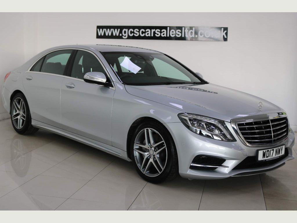 Mercedes-Benz S Class Saloon 3.0 S350L d AMG Line (Executive) G-Tronic+ (s/s) 4dr