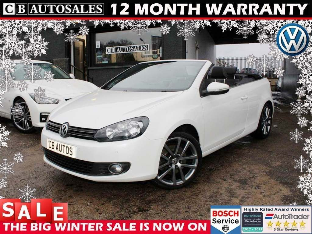 Volkswagen Golf Convertible 2.0 TDI BlueMotion Tech GT Cabriolet DSG 2dr