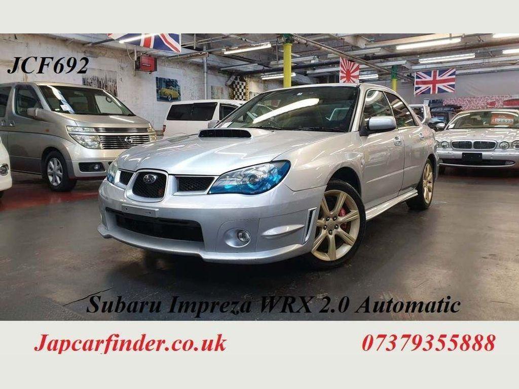 Subaru Impreza Saloon WRX IC TB 4WD Automatic 2.0 turbo