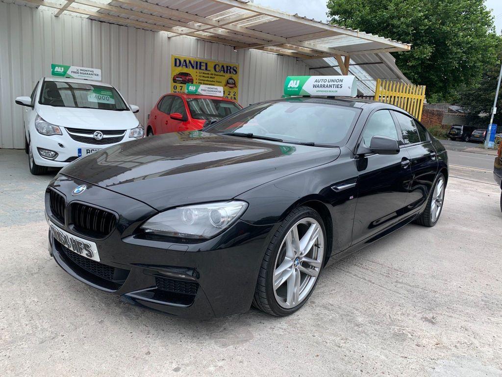 BMW 6 Series Gran Coupe Saloon 3.0 640d M Sport Gran Coupe Steptronic 4dr