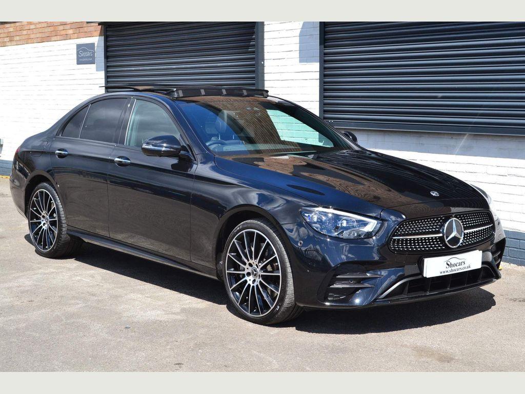 Mercedes-Benz E Class Saloon 3.0 E400d AMG Line Night Edition (Premium Plus) G-Tronic+ 4MATIC (s/s) 4dr