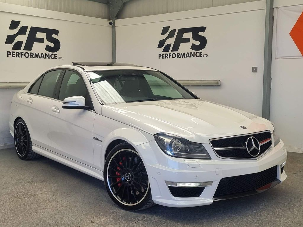 Mercedes-Benz C Class Saloon 6.3 C63 AMG MCT 7S 4dr