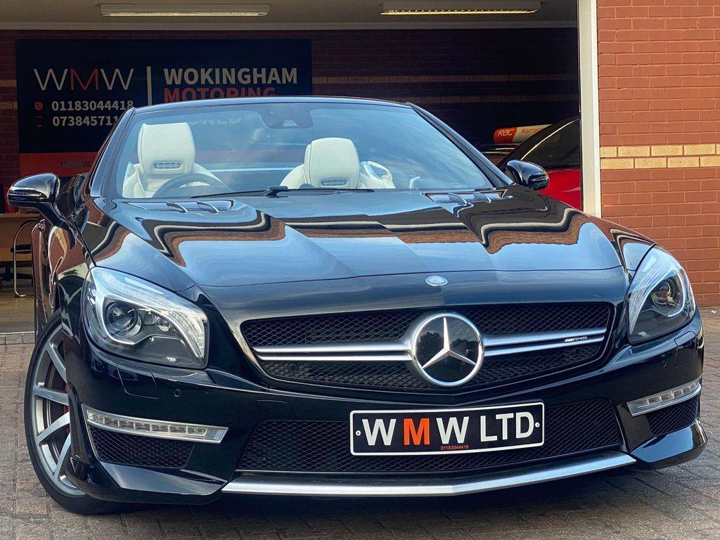 Mercedes-Benz SL Class Convertible 5.5 SL63 AMG Speedshift MCT 2dr