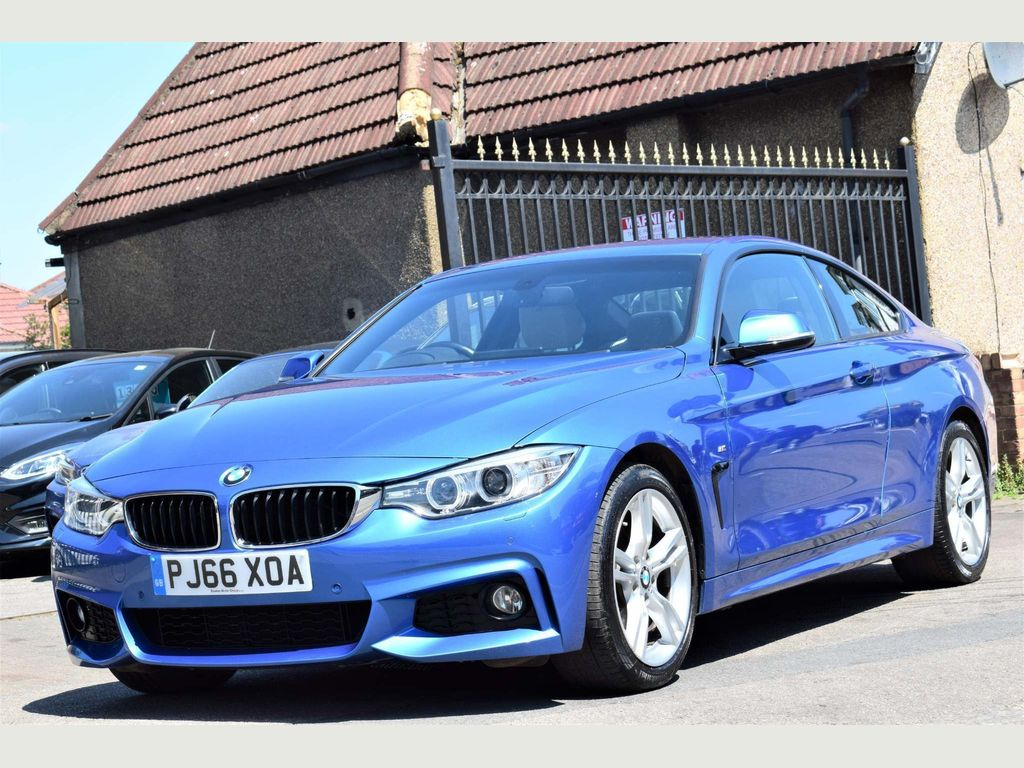 BMW 4 Series Coupe 2.0 430i M Sport 2dr