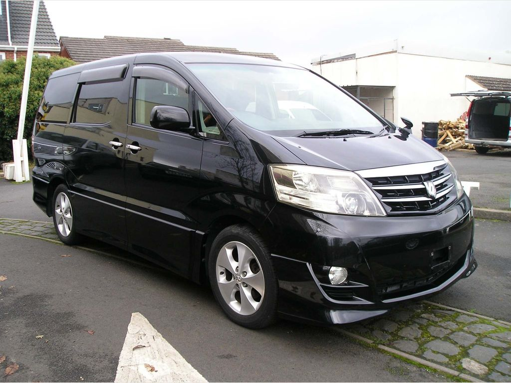 Toyota Alphard MPV 2.4 AS Platinum