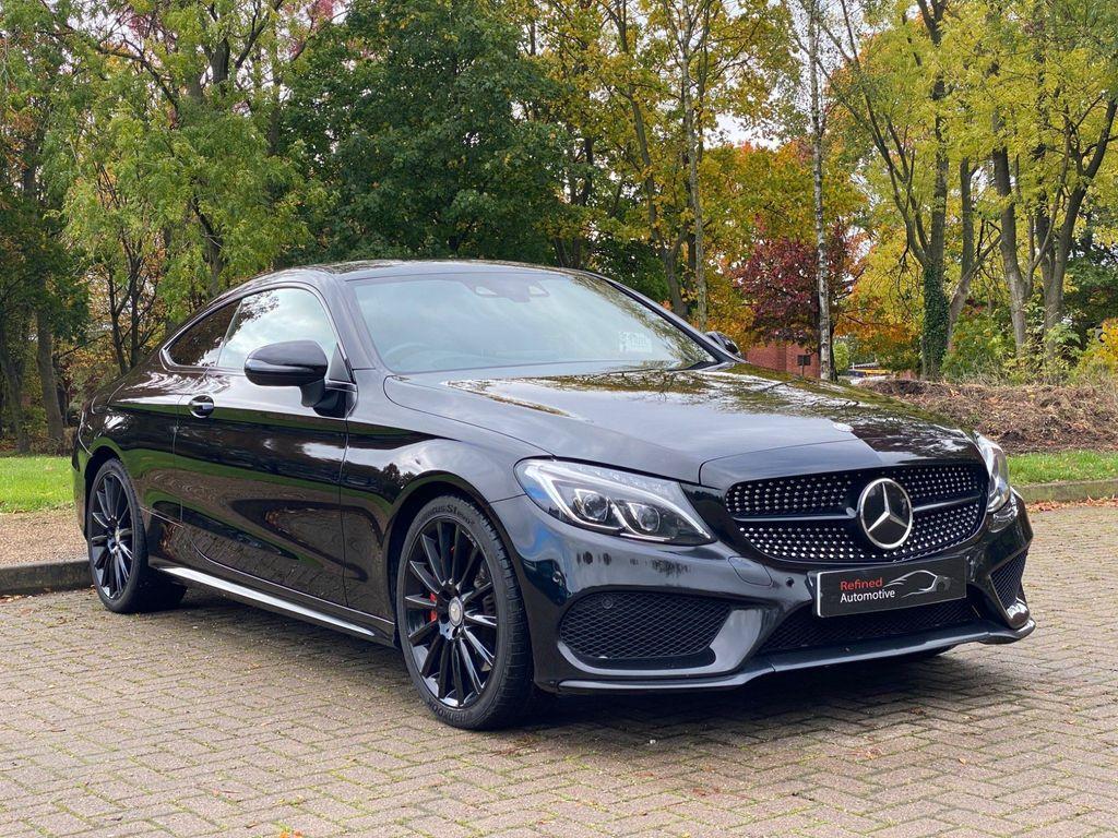 Mercedes-Benz C Class Coupe 2.0 C300 AMG Line (Premium Plus) 7G-Tronic+ (s/s) 2dr