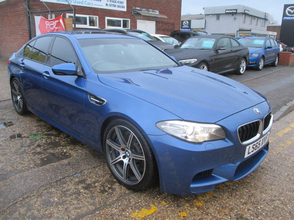 BMW M5 Saloon 4.4 V8 Competition M DCT (s/s) 4dr