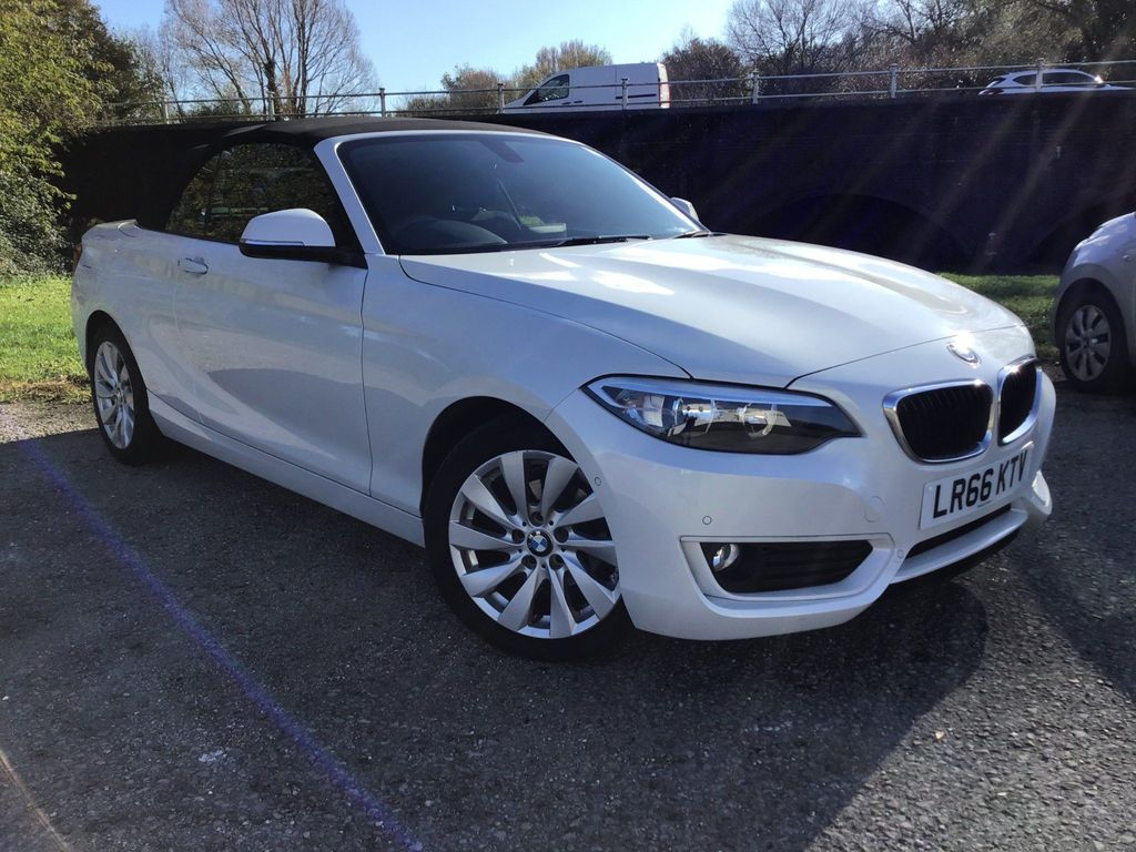 BMW 2 Series Convertible 1.5 218i SE (s/s) 2dr