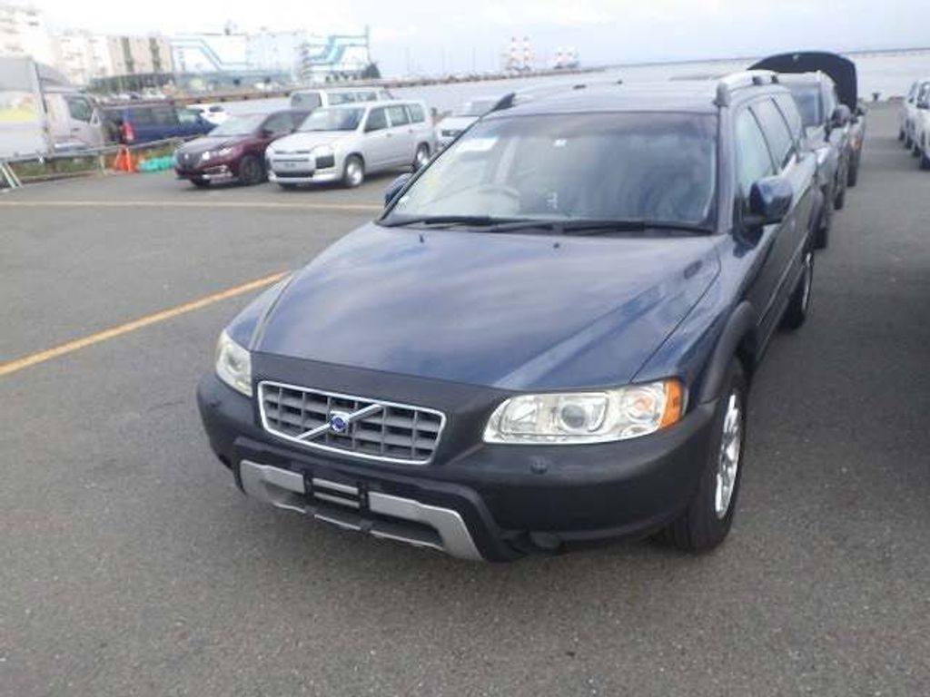 Volvo XC70 Estate 2.5T Cross Country beige leather sunroof