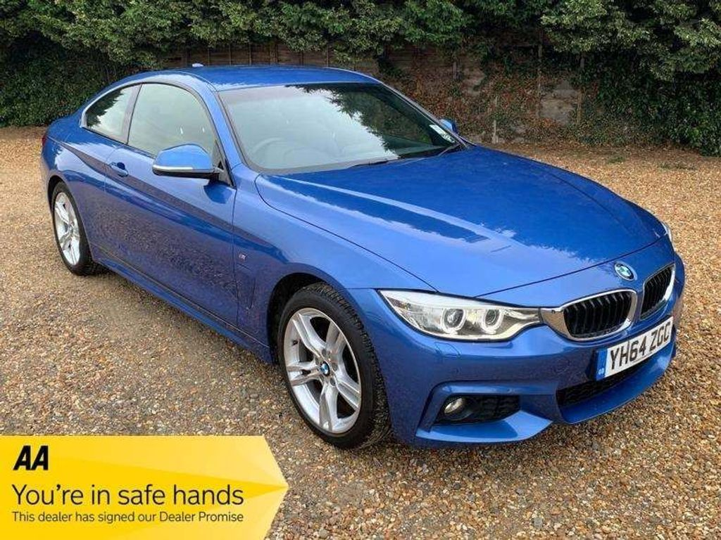 BMW 4 Series Coupe 2.0 420d M Sport Auto xDrive 2dr